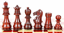 """Bud Rosewood Galaxy Staunton Wooden Chess Set Pieces Size 3"""" Triple Weighted"""