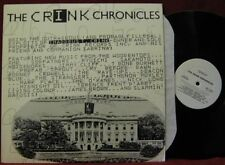 Various Artists THE CRINK CHRONICLES WL PROMO LP Vinyl Record Album  stranglers