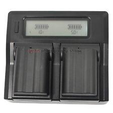 LCD Dual Charger +2x Battery MH-25 EN-EL15 for Nikon MB-D11 MB-D12 MB-D14 MB-D16