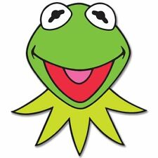 KERMIT Muppets Jim Henson Vynil Car Sticker Decal  2.5""