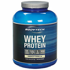 BodyTech Whey Protein - 5 lb Protein Powder French Vanilla