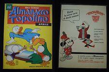 ***ALMANACCO TOPOLINO*** N.4 (APRILE 1963)