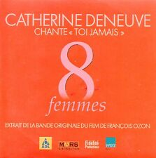 ★☆★ CD SINGLE Catherine DENEUVE Soundtrack 8 Femmes Toi Jamais 1-track RARE  ★☆★