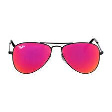 Ray-Ban Aviator Junior Black Frame Unisex Sunglasses 0RJ9506S