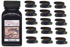 NOODLERS Fountain Pen Ink Bottle - 3oz - BULLETPROOF BLACK