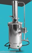 5L/H Auto Electrical Electrothermal Stainless Water Distiller Distilled Purifier