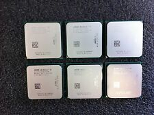 (Lot of 6) AMD Athlon II X2 255 3.1GHz CPUs ADX255OCK23GM AM2+ AM3 - CPU4401