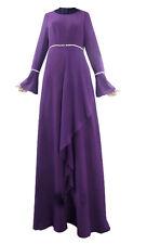 Kaftan Women Dress Ramadan Muslim Abaya Jilbab Islamic Arab Cocktail Maxi Dress