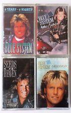 Blue System / Dieter Bohlen Kassetten Sammlung / 4 MC's