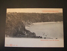 Postcard.Babbacombe from the Downs, Devon.  Hold to the light postcard. Unposted