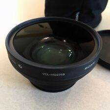 Sony VCL HG0758 Lens Wide Conversion X0.7 58mm PD-170, VX2100 AUX