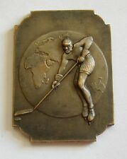 e869 World and European ICE HOCKEY Championship LONDON 1937 participation medal