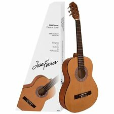 Jose Ferrer Estudiante 3/4 Size Classical Nylon String Guitar & Case - Brand New