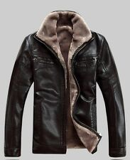 Genuin Leather Warm Winter Jacket, M size (check sleeves length)