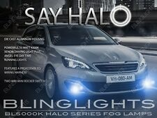 Peugeot 308 Halo Fog Lamps Angeleye Driving Lights Kit Pair Set + Harness Switch