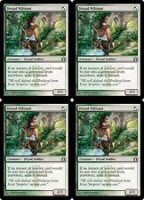 4x DRYAD MILITANT Return to Ravnica MTG White/Green Creature—Dryad Soldier Unc