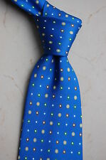 Holliday & Brown Tie | Necktie | Blue / Circles | England | Excellent