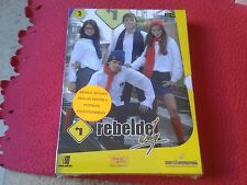 PACK DE 3 DVD DVDS SERIE TV JUVENIL ADOLESCENTE REBELDE WAY EPISODIOS 32 A 43