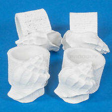 Set of 4 Nautical Napkin Rings Holder Clip Vintage White Holder Sea Shells