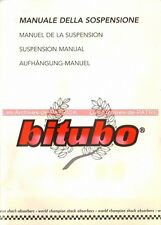 BITUBO Suspension : Manuel d'Utilisation / Owner's Manual / Manuale / Notice