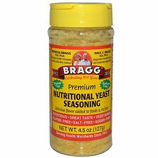 Premium Nutritional Yeast Seasoning - 127g by Bragg - Nutritious & Vegetarian
