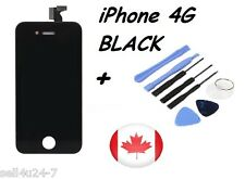 Replacement LCD Touch Screen Digitizer Glass Assembly for iPhone 4 4G Black Tool