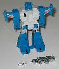 1985 Transformers G1 Jumpstarter Topspin  - Nice Condition Complete w/broken gun