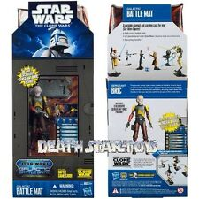 Star Wars The Clone Sergeant Sgt. Bric Galactic Battle Mat Mail Away Exclusive