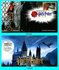 Harry Potter Fawkes The Phoenix  First Day Cover with Color Cancel Type 2