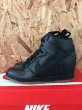 NIKE WOMENS DUNK SKY HI ESSENTIAL BLACK GUM BROWN GREY SIZE 6 NEW IN BOX BO