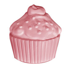 Cupcake Soap Mold - Milky Way. Melt & Pour, Cold Process, Bagged w/Instructions