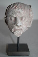 ORIGINAL ANCIENT ROMAN HEAD of a GROTESQUE 1/2nd CENTURY AD