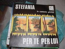"""STEFANIA La cantante pittrice """" PER TE PER LUI """"   ITALY'75"""