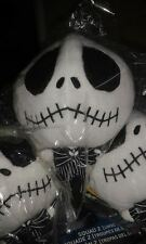"Il Nightmare Before Christmas Jack Skellington 7 ""MINI Giocattolo Peluche Figura NECA"