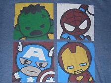 Marvel Babies Spiderman Hulk Captain America Iron Man T-Shirt Adult Large