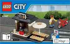 Lego City Coffeeshop in Set 60097 Centro città NUOVO