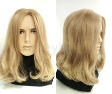 Mens Dirty Blonde #25 Long Hair Wig Hippie Grunge Jesus Synthetic Costume 14""