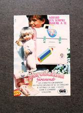 I242-Advertising Pubblicità-1990- SBRODOLINA GIRAMONDO , LO ZAINETTO , GIG