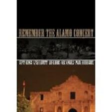 REMEMBER THE ALAMO CONCERT (DVD, 2006) New / Factory Sealed / Free Shipping