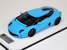 1/18 Looksmart MR Lamborghini 5-95 Zagato Baby Blue Black wheels leather