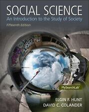 Social Science : An Introduction to the Study of Society by Elgin F. Hunt and...