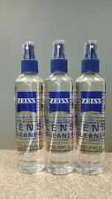 3 x Zeiss 8 oz Spray Bottle Lens Cleaner Glasses TV Camera Cell Phone 24 oz Tot