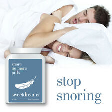 SWEET DREAMS SNORE NO MORE PILLS – STOP SNORING ANT-SNORE SLEEP WELL
