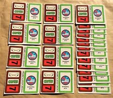 1979-80 Topps NHL Hockey Wax Pack Sticker Insert Winnipeg Jets Lot Of 25