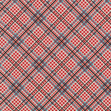 Denyse Schmidt Shelburne Falls Complex Plaid Fabric Maple PWDS042 100% Cotton