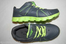 Womens Tennis Shoes GRAY & NEON LIME GREEN ATHLETIC SNEAKERS Lace Up SIZE 6