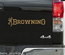 BROWNING BUCKMARK STICKERS  DECALS VINYL SHOOTING x 2 500mm Fishing Sticker