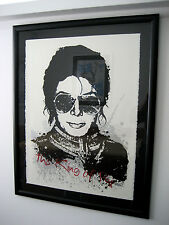 MICHAEL JACKSON KING of POP BRAINWASH mr mister shepard fairey obey giant banksy