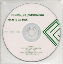 (AP308) Figaro De Montmartre, Place A La Nuit - DJ CD