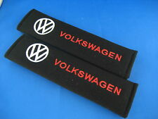 2 x Seat Belt Cover Shoulder Pads Covers Cushion for Volkswagen VW Golf Gti Polo